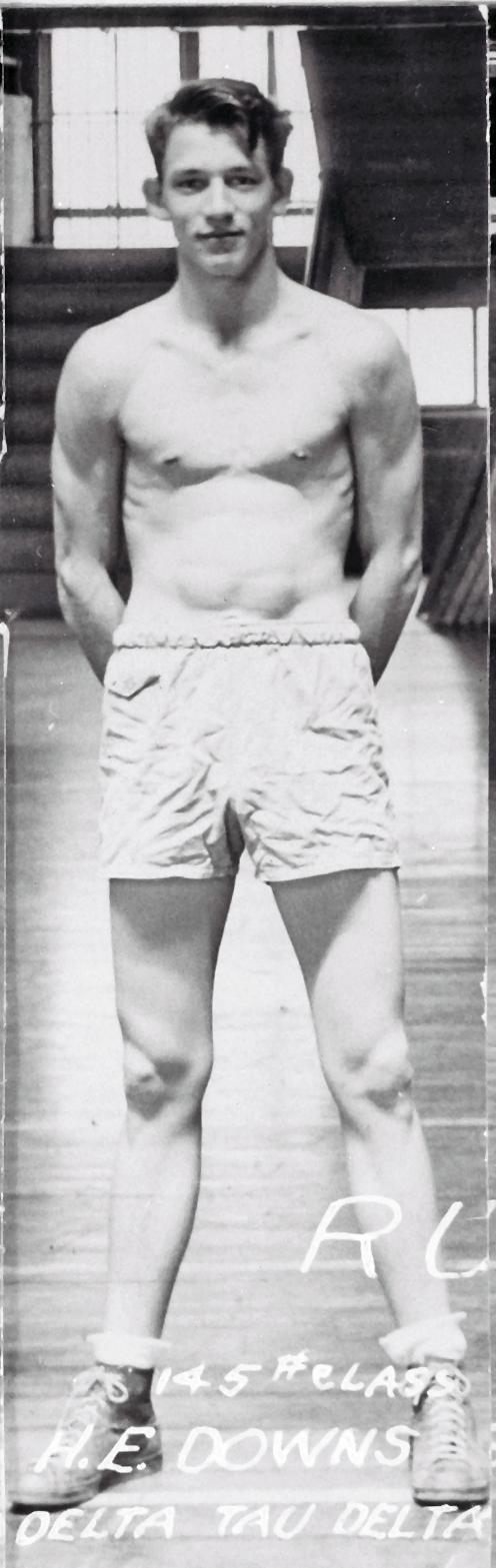Boxing, Runner Up 145 lb. Class Delta Tau Delta H.E. Downs