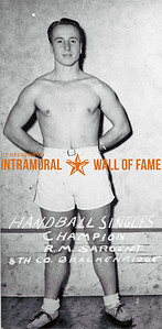 Handball, Singles Champion 8th Co. Brackenridge R.M. Sargent