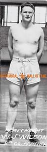 Boxing, Champion Heavyweight Class 5th Co. Prather W.J. Wilson