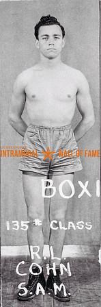 Boxing, Champion 135 lb. Class Sigma Alpha Mu R.L. Cohn