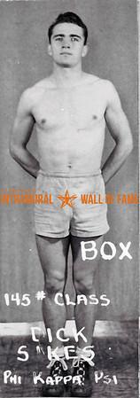 Boxing, Runner Up 145 lb. Class Phi Kappa Psi Dick Sikes