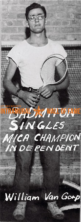 Badminton, Singles MICA Champion Independent William Van Gorp