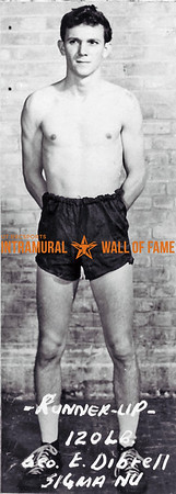 Boxing, Runner Up 120 lb. Class Sigma Nu George E. Dibrell