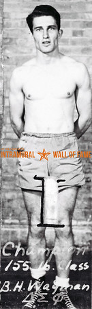 Boxing, Champion 155 lb.  B.H. Wagman, Wagner, Delta Sigma Phi