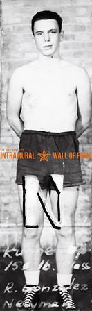 Boxing, Runner Up 155 lb. R. Gonzalez, Newman Club