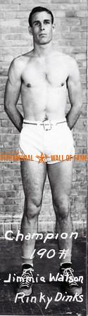 Boxing, Champion 190 lb. Jimmie Watson, Rinky Dinks
