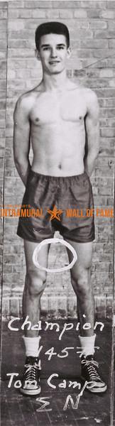 Boxing, Champion 145 lb. Tom Camp, Sigma Nu