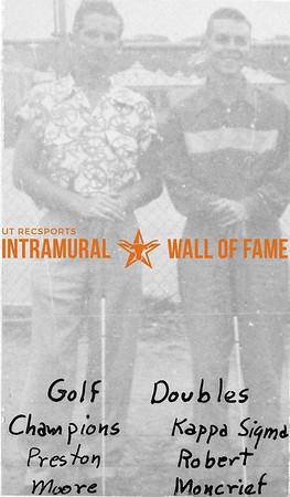 Golf Doubles, Champions Kappa Sigma Preston Moore, Robert Moncrief