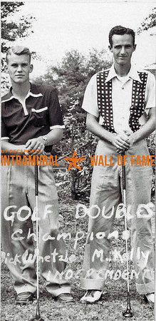 Golf Doubles Champions Dick Whetzle, M. Kelly, Independent