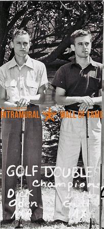 Golf Doubles, Champions Richard Oden, Walter Guttman, Lambda Chi Alpha