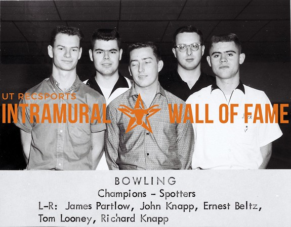 Intramural Champs 1959-60