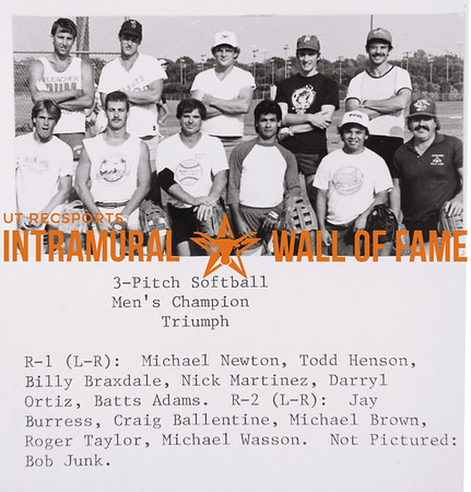 Intramural Champs 1988-89