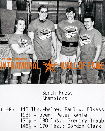 Intramural Champs 1990-91