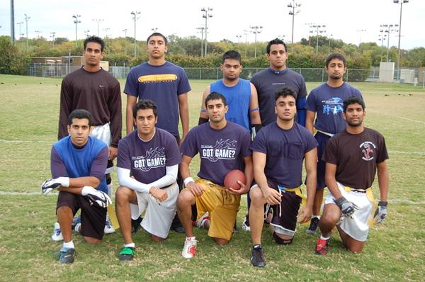 Flag Football Frat B Champions: Beta Kappa Gamma