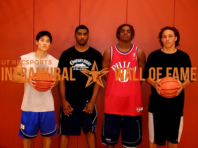 3-ON-3 BASKETBALL Champion  Wow Those Guys Are Good  R1: James Shaw, Simmie Thegrate, Joseph Price, Eric Sonnier