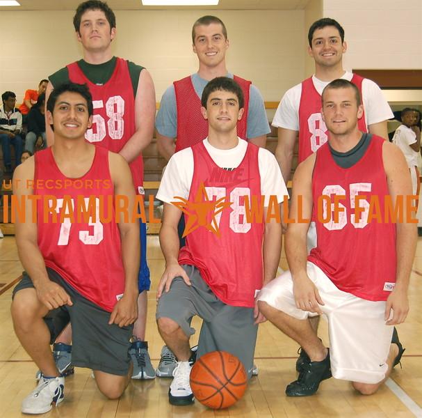 BASKETBALL White B Champion  Regulators  R1: Michael Medina, Blake Meyers,  Jacob Fuhrmann R2: Ryan Chamberlain,  Sean Cahill, David Macias