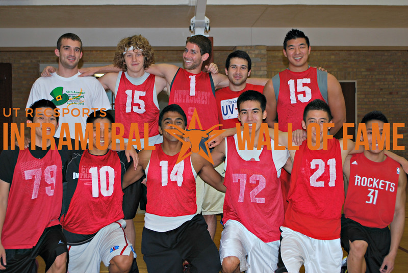 SUMMER BASKETBALL Champion  Brown and Yellow  R1: Jason Poon, Robert Borromeo, Anil Pillai, Luke Monteith, Matthew Koller, Tu Pham  R2: Zachary Blunt, Stephen Bell, Alexander Conwell, Gregory Gonzales, Ki Woong Na
