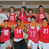 SUMMER BASKETBALL<br /> Champion<br /> <br /> Brown and Yellow<br /> <br /> R1: Jason Poon, Robert Borromeo, Anil Pillai, Luke Monteith, Matthew Koller, Tu Pham <br /> R2: Zachary Blunt, Stephen Bell, Alexander Conwell, Gregory Gonzales, Ki Woong Na