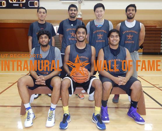SUMMER BASKETBALL Runner Up  Boom Boom Sauce  R1: Akhil Patel, Ajay Patel, Kunal Patel R2: Aaron Estrada, Akshar Patel, Joon Park, Krisen Chatarpal