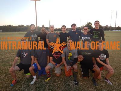 Fall 2015 Flag Football Orange C Runner Up ASCE