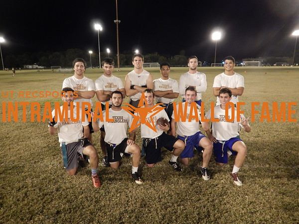 Fall 2015 Flag Football White A Champion WRANGLERS