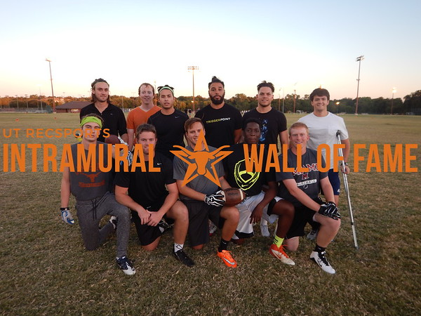 Fall 2015 Flag Football Orange B Champion Absolute Texas