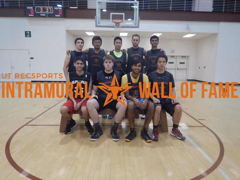 Fall 2015 Basketball Men's C Champion Splash Bros