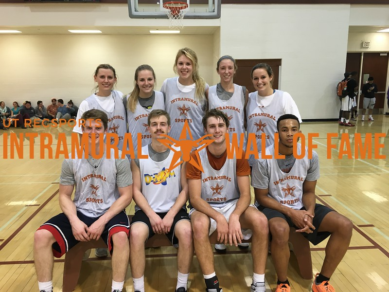 Fall 2015 Basketball Coed A Champion The Champs