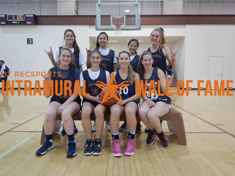 Fall 2015 Basketball Women's Runner Up Ball Is Life