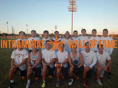 Fall 2015 Flag Football White C Champion EcclesiATHLETES
