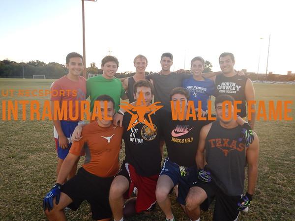 Fall 2015 Flag Football White C Runner Up Samdawgs!