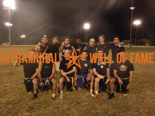 Fall 2015 Flag Football  Orange A Runner Up  Smash Bros