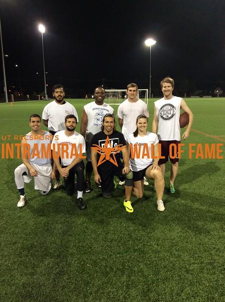 Fall 2017 Flag Football Graduate Runner Up NWO