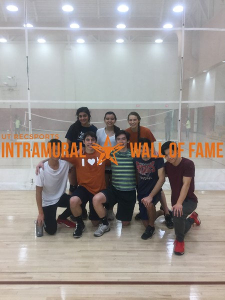 Fall 2017 Volleyball Coed C Runner Up Volleyball 11/1