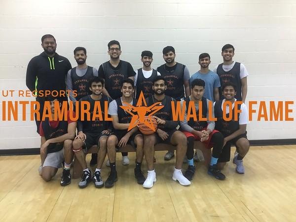 Fall 2017 Basketball Men's B Runner Up 808s and Fastbreaks