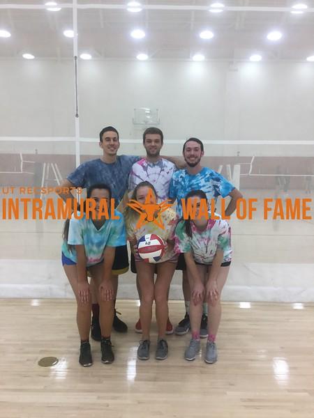 Fall 2017 Volleyball Coed A Runner Up Magic Manatees