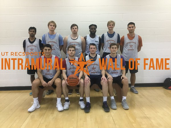 Fall 2017 Basketball Men's A Champion Triple B
