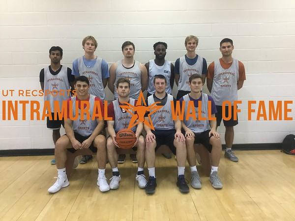 Fall 2017 Basketball Men's A Champion Triple B