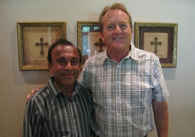 10 08-26 Ranjan Fernando, National Director of Fuller Center Sri Lanka with David Snell. lf