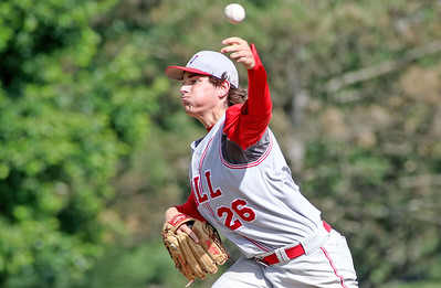 no.26, Trey Dombroski Wall baseball v/s West Morris in the NJSIAA Group III final in Hamilton, NJ on 6/8/19. Final: 10-2 Wall [DANIELLA HEMINGHAUS | THE COAST STAR]