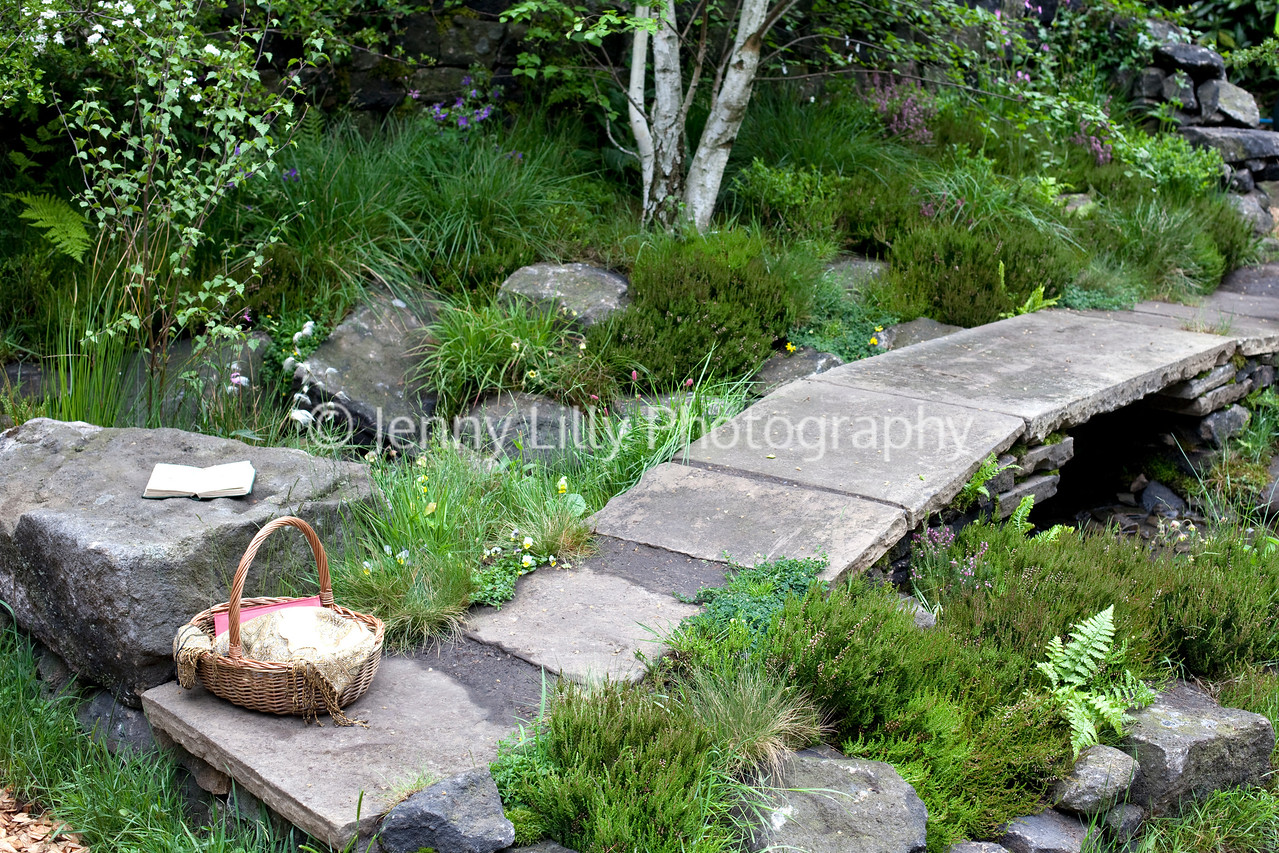 The Brontesu0027 Yorkshire Garden, Artisan Garden, Chelsea Flower Show 2012,  Designer Tracy