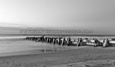 Folly Beach pylons