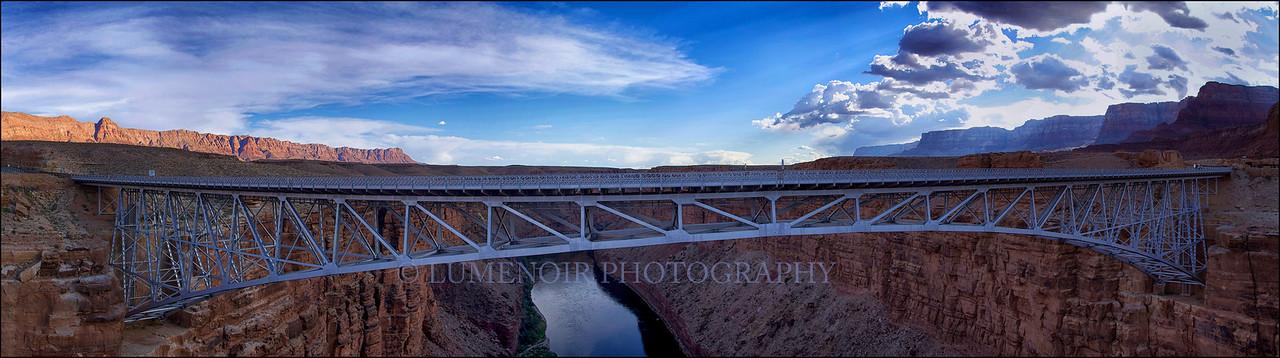 Navajo Bridge over Colorado River, AZ