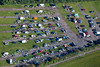 Car boot sale from the air.