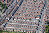 Aerial photo of housing in Leicester.