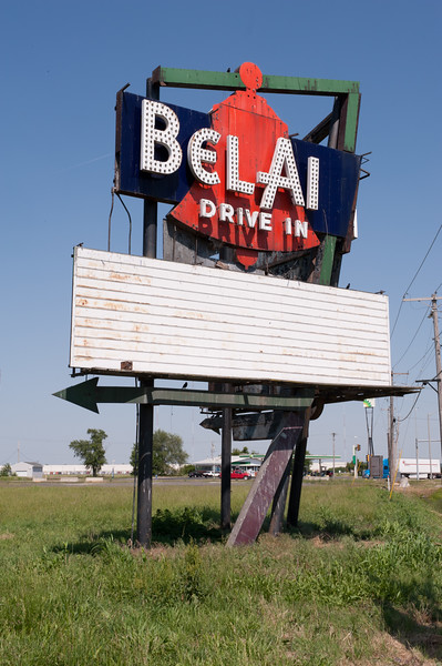 Belair Drive in sign
