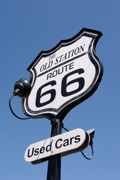 The Old Station Sign, Used Cars