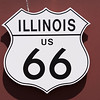 Illinois US 66 sign