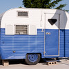 Little travel trailer