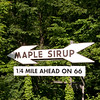 Maple Sirup (SIC) sign